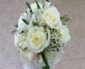 white rose and alstromeria bridal bouq in Waipahu, Hawaii, Waipahu Florist