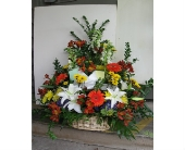 Funeral Arrangement in Blue Bell PA, Country Flower Shoppe
