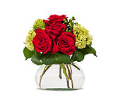 Romance in Glen Rock NJ, Perry's Florist