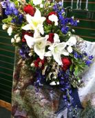 Sympathy Arrangement No. 1 in Northfield, Ohio, Petal Place Florist