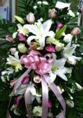Sympathy Arrangement No. 2 in Northfield, Ohio, Petal Place Florist