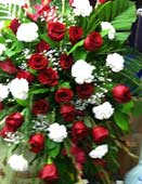 Reception Arrangement No. 2 in Northfield, Ohio, Petal Place Florist