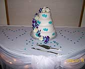 Dendrobium Orchid accented cake in Corunna, Ontario, LaPier's Flowers