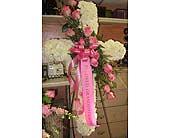 Sympathy Cross in Modesto, Riverbank & Salida, California, Rose Garden Florist