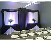 Custom Backdrop in Corunna, Ontario, LaPier's Flowers