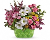 Simpsonville Flowers - Teleflora's Basket Of Beauty Bouquet - Simpsonville Florist & Gifts