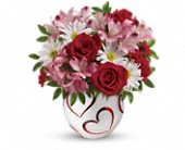 Teleflora's Happy Hearts Bouquet in Watertown NY, Sherwood Florist