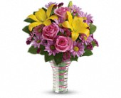 Teleflora's Spring Serenade Bouquet in Oklahoma City OK, Array of Flowers & Gifts