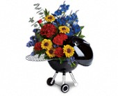 San Juan Flowers - Weber Hot Off The Grill by Teleflora - De Flor's Flowers & Gifts