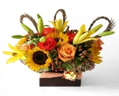 Austin Flowers - Fall Bounty  - Coby Neal-The Flower Studio