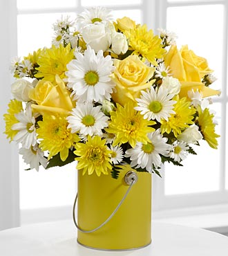 The Color Your Day With Sunshine™ Bouquet in Chicago, Illinois, Yera's Lake View Florist