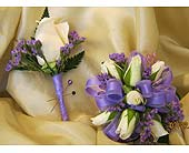 White & Purple in Wake Forest NC, Wake Forest Florist