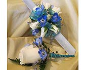 White-Blue Y Bling in Wake Forest NC, Wake Forest Florist