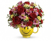 So Happy You're Mine Bouquet by Teleflora in Charleston IL, Noble Flower Shop