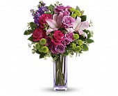 Teleflora's Fresh Flourish Bouquet in San Francisco CA, Rose & Leona's Flower Shop