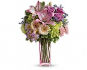 Teleflora's Artfully Yours Bouquet in Portland TX, Greens & Things