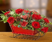 1 800-Traditional Tidings Sleigh in Woodbridge VA, Lake Ridge Florist