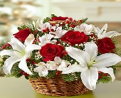 1 800 Fields of Europe for Christmas Basket in Woodbridge VA, Lake Ridge Florist
