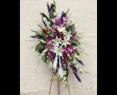 Lavender Standing Spray in Los Angeles, California, Haru Florist