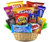 Snack Attack Basket in Los Angeles CA, 1-800 Flowers Conroys