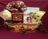 Holiday Celebration Gift Basket in Manalapan NJ, Rosie Posies