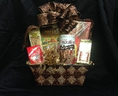 Seasons Greetings Gift Basket in Manalapan NJ, Rosie Posies