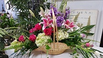 BEAUTIFUL FIRESIDE in The Villages, Florida, The Villages Florist Inc.
