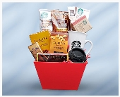 Starbucks Godiva Gourmet Basket in Chicago IL, La Salle Flowers