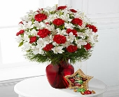 FTD-Gorgeous Greeting Holiday Bouquet  in Woodbridge VA, Lake Ridge Florist