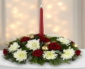 FTD-Light & Love Holiday Centerpiece in Woodbridge VA, Lake Ridge Florist
