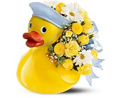 Scottsdale Flowers - Teleflora's Just Ducky Bouquet - Boy - Fresh Bloomers Flowers &amp; Gifts, Inc.
