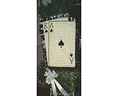 Playing Cards in Chicago, Illinois, Buds Flowers