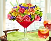 Sangria Bouquet in Aston PA, Wise Originals Florists & Gifts