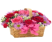BASKET OF LOVE BOUQUET in Vienna VA, Vienna Florist & Gifts