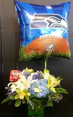 12th man Bouquet in Bothell WA, The Bothell Florist