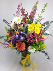 A SPLASH OF COLOR by Rubrums in Ossining NY, Rubrums Florist Ltd.