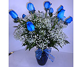 Love is Blue in Gastonia NC, Fine And Fancy Flowers