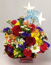 BIRTHDAY SURPRISE by Rubrums in Ossining NY, Rubrums Florist Ltd.
