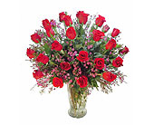 Two Dozen Premium Red Roses in Las Vegas NV, A French Bouquet