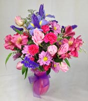 PINK & LAVENDER BLISS by Rubrums in Ossining NY, Rubrums Florist Ltd.
