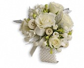 All Buttoned Up Corsage in Etobicoke ON, La Rose Florist