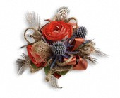 Boho Dreams Corsage in Clinton AR, Main Street Florist & Gifts