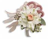 Call Me Darling Corsage in Cerritos CA, The White Lotus Florist