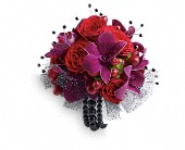Celebrity Style Corsage in Lake Worth FL, Belle's Wonderland Orchids & Flowers
