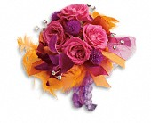 Dance 'til Dawn Corsage in London ON, Lovebird Flowers Inc