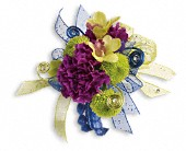 Evening Electric Corsage in Clinton AR, Main Street Florist & Gifts
