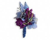 Feel The Beat Boutonniere in Lake Worth FL, Belle's Wonderland Orchids & Flowers