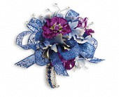 Feel The Beat Corsage in Florissant MO, Bloomers Florist & Gifts