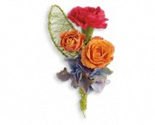 You Glow Boutonniere in Clinton AR, Main Street Florist & Gifts