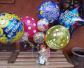 Birthday Balloon & Bear Bouquet in Templeton CA, Adelaide Floral
